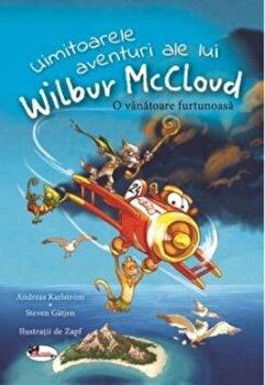 Uimitoarele aventuri ale lui Wilbur McCloud. O vanatoare furtunoasa/Andreas Karlstrom