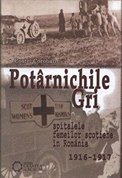 Potarnichile gri. Spitalele Femeilor Scotiene in Romania (1916-1917)/Costel Coroban imagine