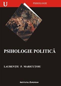 Coperta Carte Psihologie politica