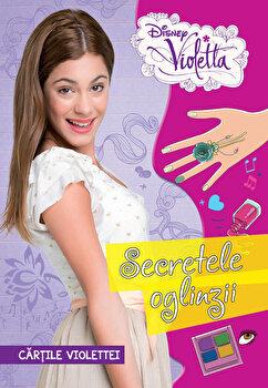 Coperta Carte Cartile Violettei. Secretele oglinzii