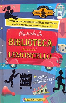 Olimpiada din Biblioteca Domnului Lemoncello/Chris Grabenstein imagine elefant 2021