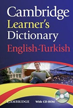 Cambridge Learner's Dictionary English-Turkish 'With CDROM', Paperback/*** poza cate