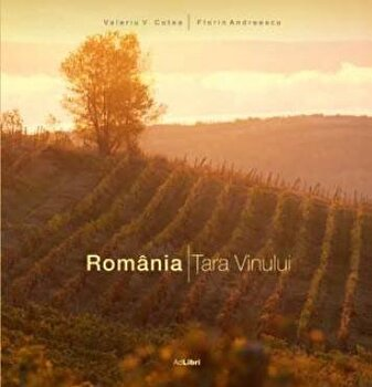 Romania. Tara vinului (romana)/Florin Andreescu, Valeriu V.Cotea imagine elefant.ro 2021-2022