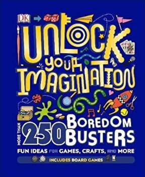 Unlock Your Imagination, Hardcover/*** poza cate