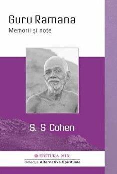 Coperta Carte Guru Ramana. Memorii si note