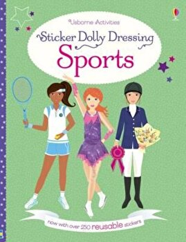 Sticker Dolly Dressing Sports, Paperback/Fiona Watt poza cate
