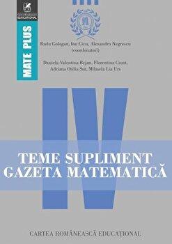 Teme supliment Gazeta Matematica. Clasa a IV-a/***