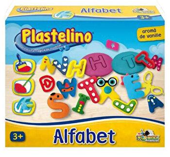 Plastelino - Alfabet din plastilina