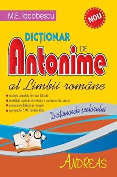 Dictionar de antonime al limbii romane/M.E. Iacobescu