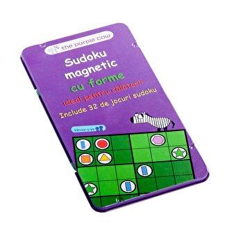 Joc magnetic - Sudoku cu forme geometrice