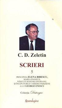 Scrieri 5/C.D. Zeletin poza cate