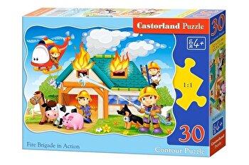 Puzzle Pompieri in actiune, 30 piese