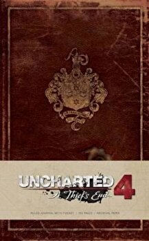 Uncharted Hardcover Ruled Journal, Hardcover/Insight Editions imagine