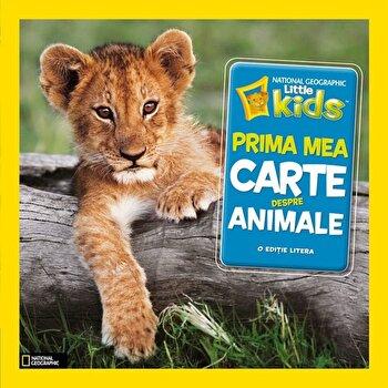 Coperta Carte Prima mea carte despre animale