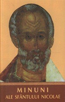 Coperta Carte Minuni ale Sfantului Nicolae