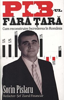 PIB-ul fara tara. Cum reconstruim increderea in Romania/Sorin Pislaru imagine