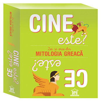Cine este' Ce este' Zei si eroi din mitologia greaca - cutie cu jetoane/Charlotte Grossetete
