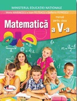 Coperta Carte Matematica. Manual clasa a V-a