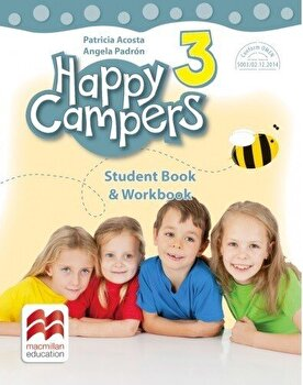 Happy campers. Student Book, Workbook. Clasa a III-a/***