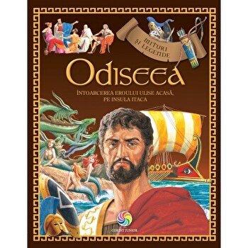 Odiseea. Intoarcerea eroului Ulise acasa, pe insula Itaca/Homer