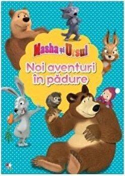 Masha si ursul. Noi aventuri in padure/***