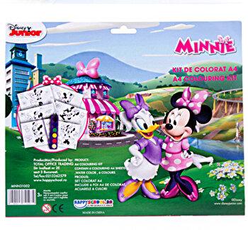 Kit de colorat A4 Minnie poza