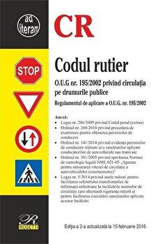 Codul rutier - Editia a 2-a (2016-02-12)/*** imagine elefant.ro 2021-2022