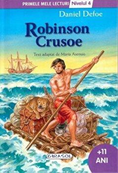 Robinson Crusoe - Nivelul 4/Daniel Defoe