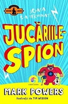 Jucariile - spion/Mark Powers