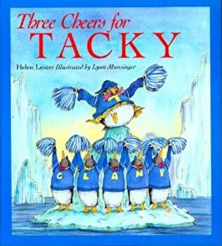 Three Cheers for Tacky (Paperback) 1996c Houghton Mifflin, Paperback/Helen Lester poza cate
