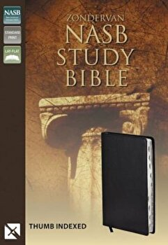 Study Bible-NASB, Hardcover/Kenneth L. Barker poza cate
