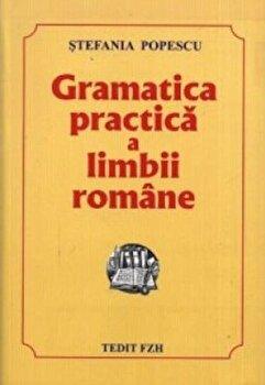 Gramatica practica a limbii romane/Stefania Popescu imagine