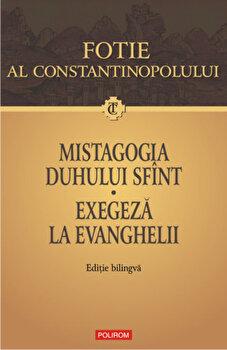 Mistagogia Duhului Sfint. Exegeza la Evanghelii (Editie bilingva)-Fotie al Constantinopolului imagine
