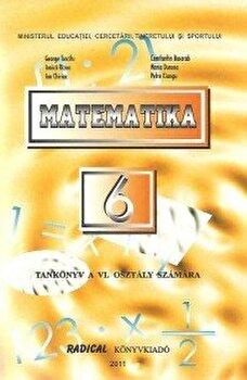 Matematica. Manual pentru clasa a VI-a in limba maghiara/George Turcitu, Ionica Rizea, C. Basarab, M.Duncea, I.Chiriac, P.Ciungu poza cate