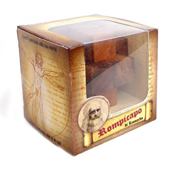 Puzzle din lemn - Mini Tree - Leonardo da Vinci