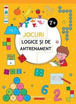 Jocuri logice si de antrenament (7 ani +)/Ballon Media imagine