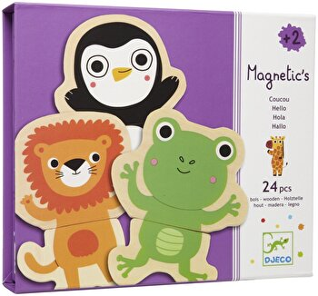 Joc creativ magnetic - Animale prietenoase