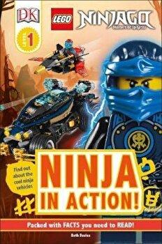 LEGO NINJAGO Ninja in Action!, Hardcover/*** poza cate