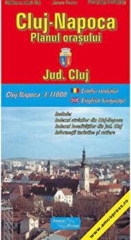 Cluj-Napoca - Planul orasului/*** imagine elefant.ro