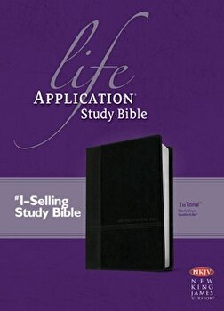 Life Application Study Bible-NKJV, Hardcover/Tyndale poza cate