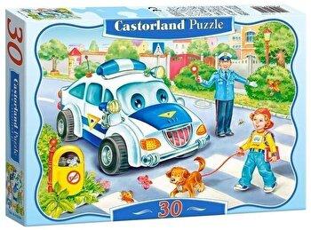 Puzzle Drumul catre scoala, 30 piese