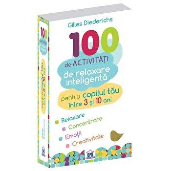 Coperta Carte 100 de activitati de relaxare inteligenta