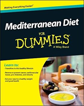 Mediterranean Diet for Dummies, Paperback/Rachel Berman poza cate