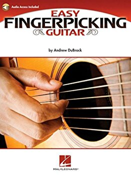 Easy Fingerpicking Guitar: A Beginner's Guide to Essential Patterns & Techniques, Paperback/Andrew DuBrock image0