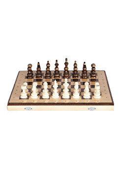 Joc Sah & Table, 44 cm, clasic