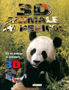 3D - Animale in pericol (poster+ochelari)/*** imagine