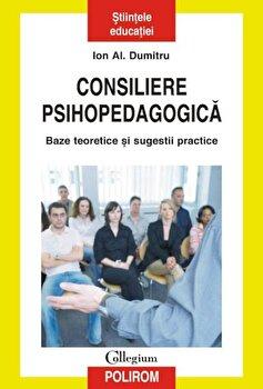 Consiliere psihopedagogica. Baze teoretice si sugestii practice/Ion Al. Dumitru imagine