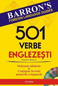 501 verbe englezesti (Contine CD)/Thomas R. Beyer imagine elefant.ro 2021-2022