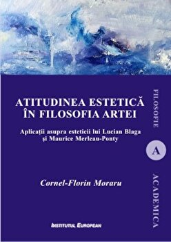Coperta Carte Atitudinea estetica in filosofia artei