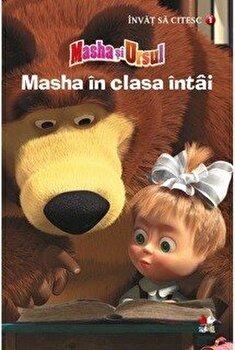 Masha in clasa intai. Povesti de la ferma. Invat sa citesc (nivelul 1)/*** poza cate